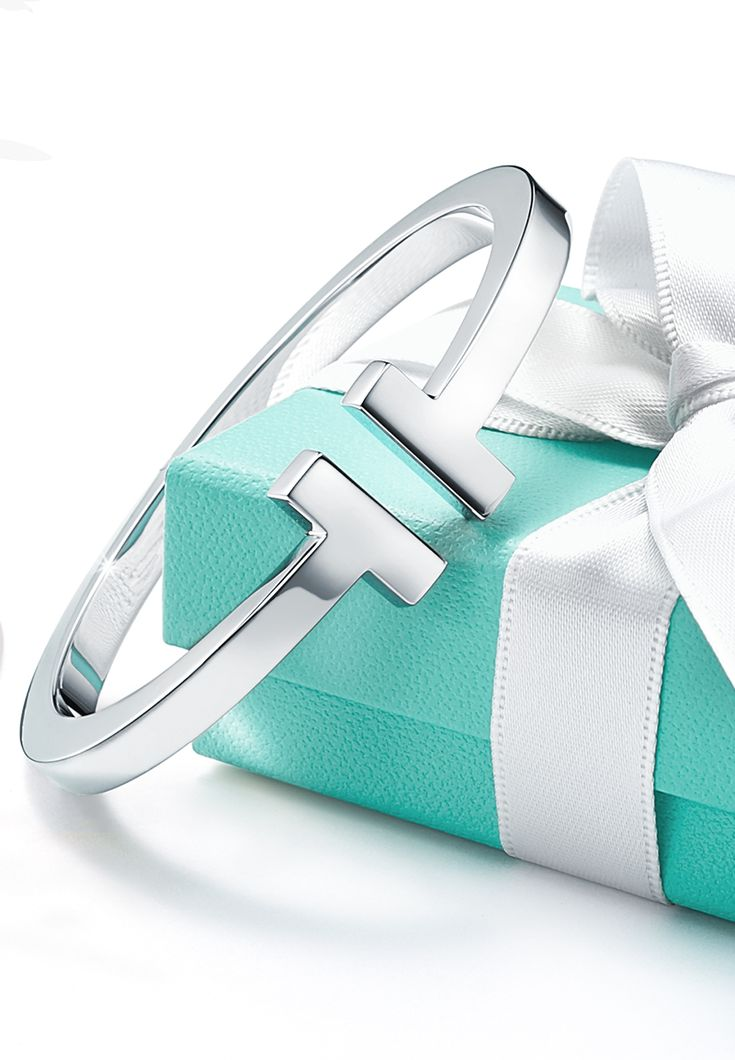 When the weather is frightful, it's best to curl up with some T—like our Tiffany T square bracelet in sterling silver.