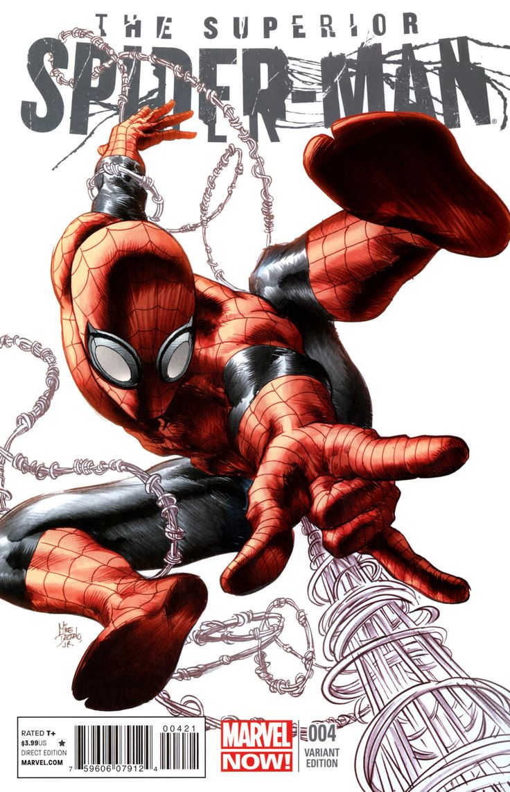 Mike Deodato Jr.2013 | Superior Spider-Man #4 variant cover. Color: Rain Beredo.