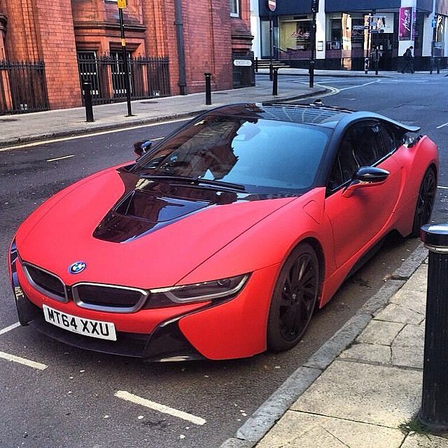 bmw i8 black and red. bmw i8 black and red