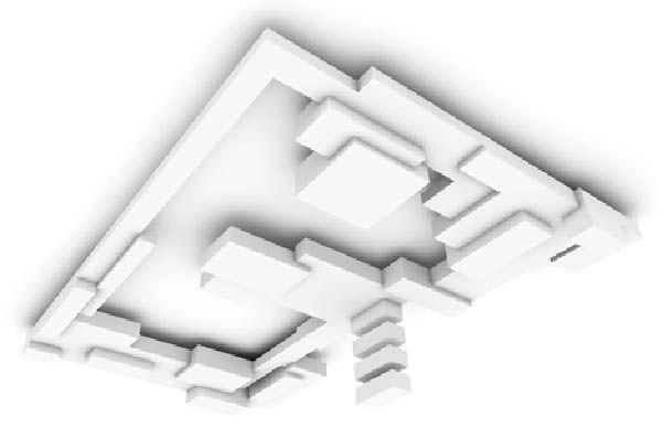 Ngạc nhiên với khối kiến trúc trần