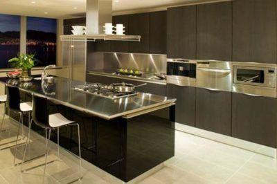 fotos de cozinhas planejadas marrom