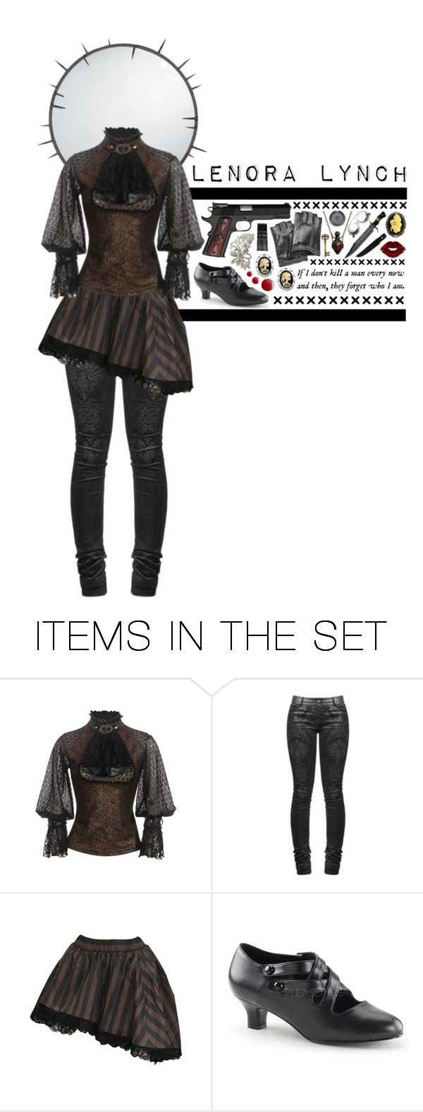 """Battle for LITA: Lenora Lynch - Steampunk Assassin"" by decoder13 ❤ liked on Polyvore featuring art"