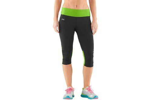 Women's UA Fly-By Compression Capri Bottoms by Under Armour by Under Armour. $42.82. Locked-in UA Compression fit increases muscle power and decreases recovery time. Brushed matte finish delivers a clean, classic look. Signature Moisture Transport System wicks sweat to keep you cool, dry, and light. Lightweight, 4-way stretch fabrication improves range of motion and dries faster. Ergonomic flatlock side seams eliminate chafing for a superior comfort fit. Wide, str...