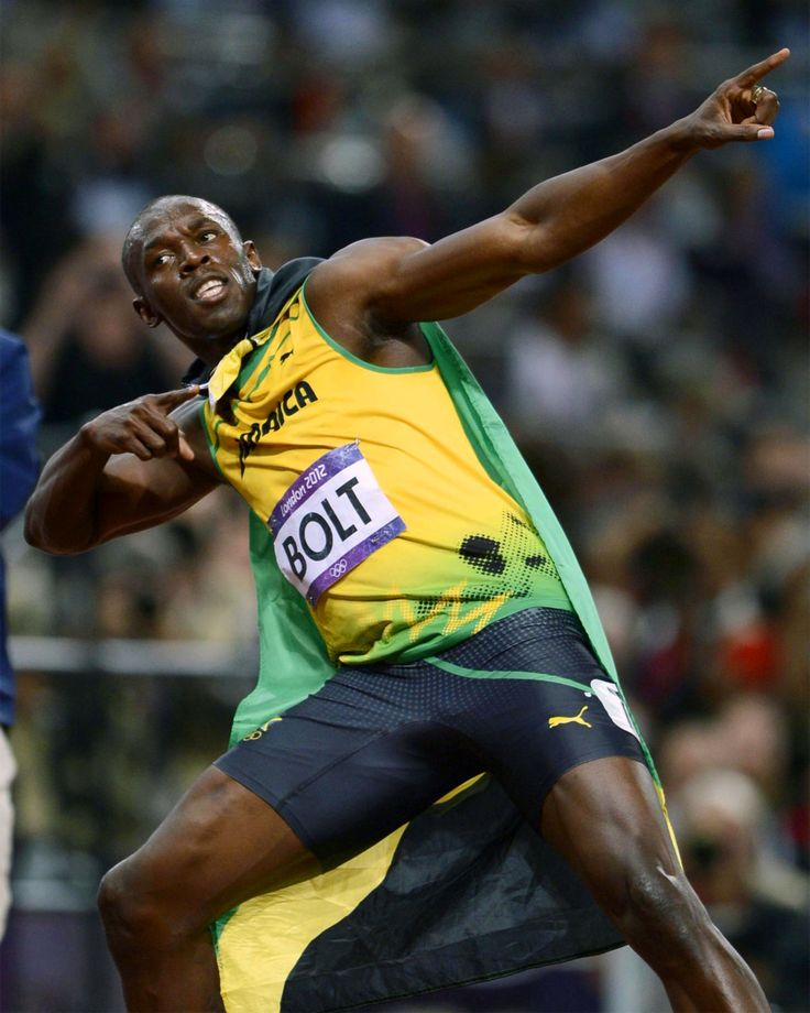 The fastest man on the planet earth, Usain BOLT!!!