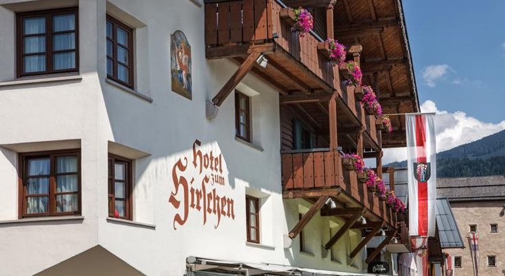 Hotel zum Hirschen Zell Am See The family-run Hotel zum Hirschen is located in the pedestrian zone of Zell am See, only a 2-minute walk from the lake. It offers award-winning cuisine and free Wi-Fi access.