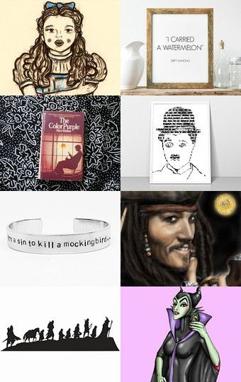 At The Movies by Cynthia Sillitoe on Etsy--Pinned with TreasuryPin.com