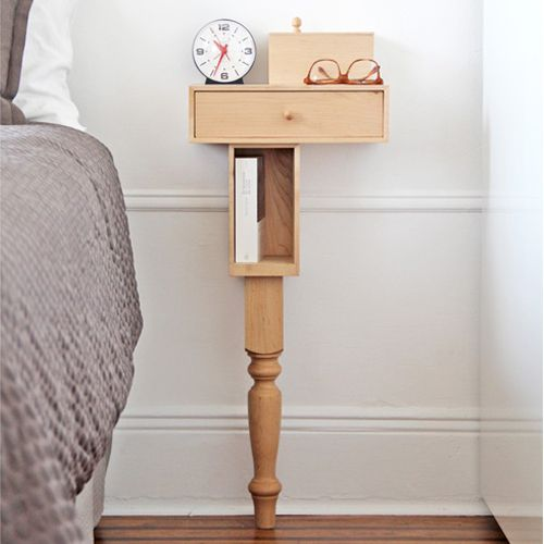 Bedside Console with Leg by PELLE Really nice design.