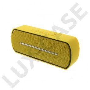 Bluetooth Kaiutin Mikrofonilla (Keltainen)