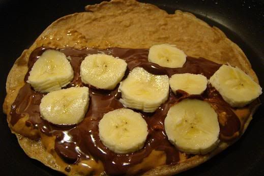butter and banana crepe peanut butter nutella crepes 1 2 simple ...