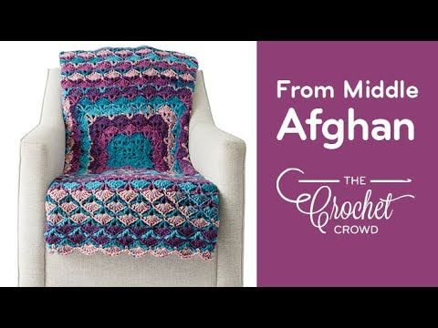 Crochet From the Middle Afghan + Tutorial - The Crochet Crowd