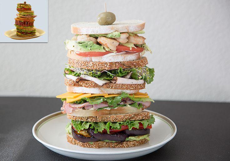 Final Fantasy XV - Stacked Ham Sandwich