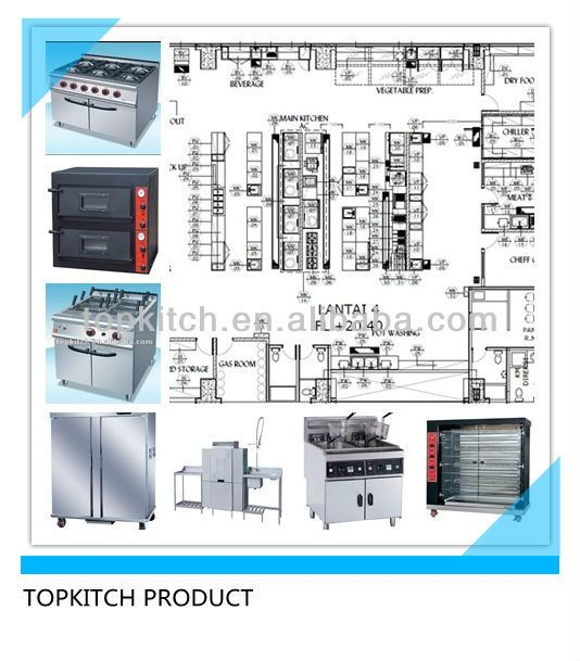 Professional Kitchen Design With Service of Supplying Kitchen Equipments for All Kind of Kitchen Project $10000~$20000