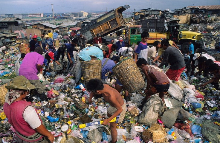 Rubbish Dump Recycling Philippines Poor And Indigenous