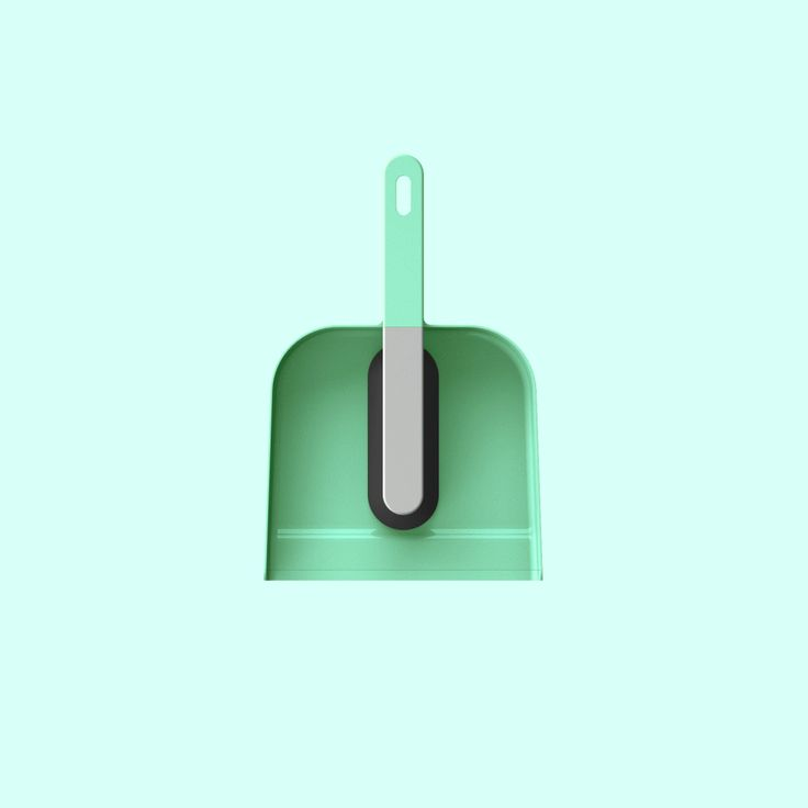 DUSTPAN AND BRUSH  CLEANING ACCESSORIES FOR YORK  design by SOKKA