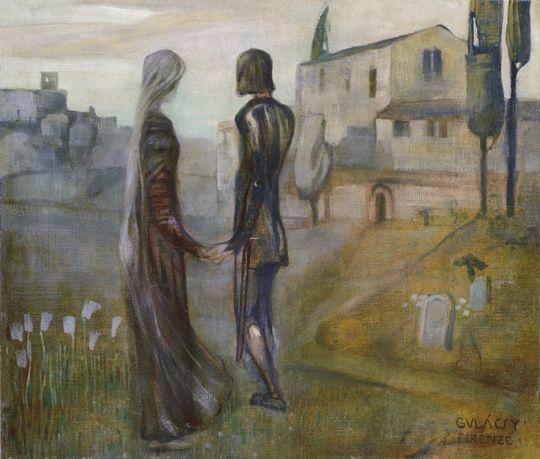 Gulácsy Lajos - Legenda (Tristán és Izolda)1903-1904 között
