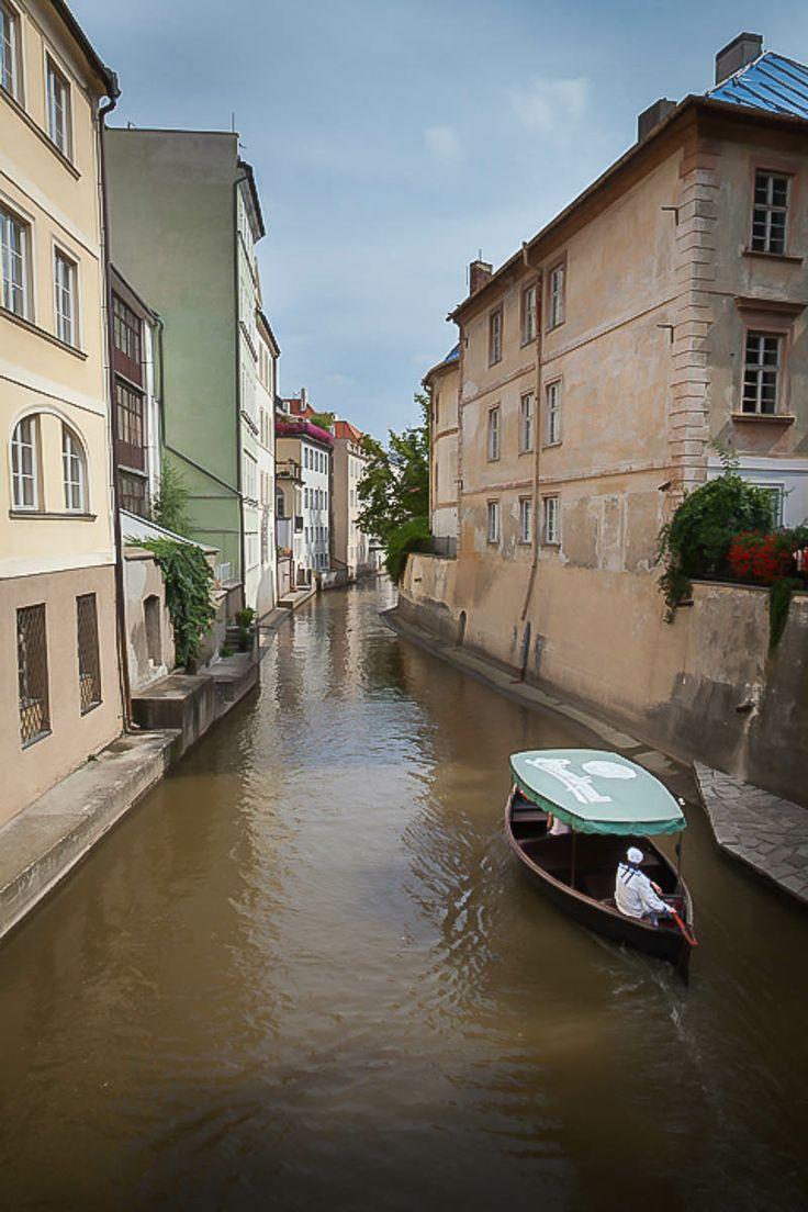 Certovka Canal, Prague, Czech Republic