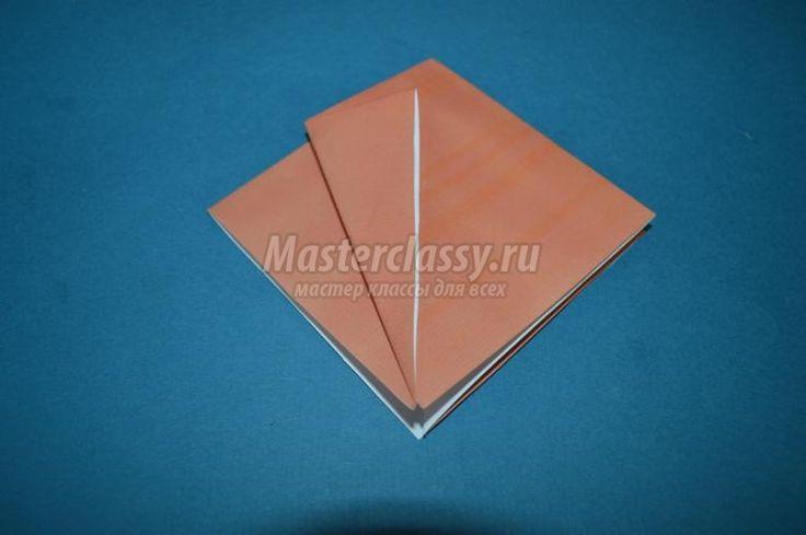 оригами щъркел