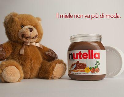 """Check out new work on my @Behance portfolio: """"Il miele non va più di moda. Nutella."""" http://be.net/gallery/31707299/Il-miele-non-va-piu-di-moda-Nutella"""