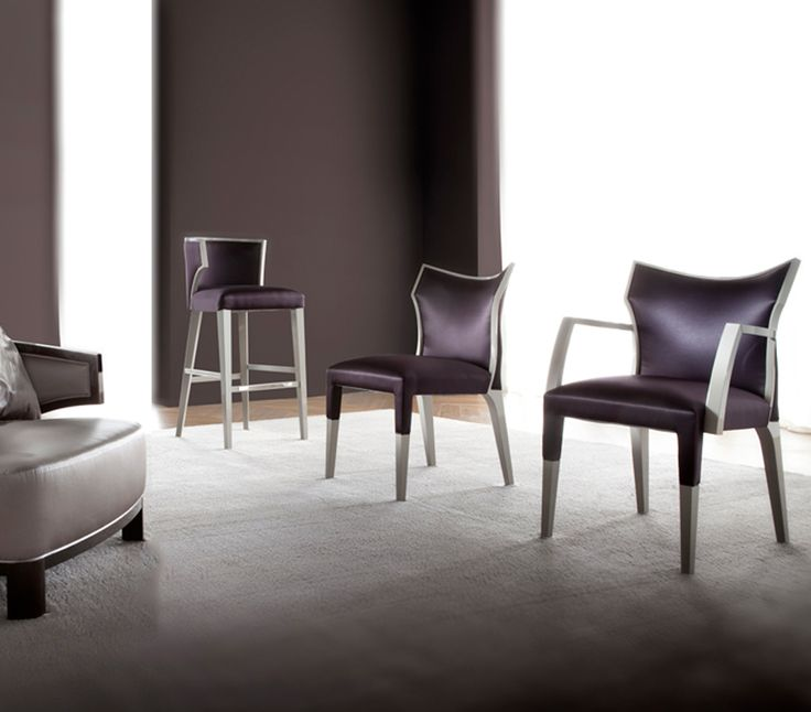 Designed By G Soressi Villa Chair Comes In Five Styles Side