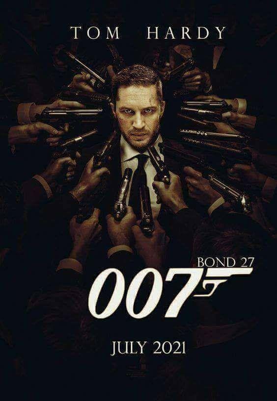 tom hardy as 007 july ...