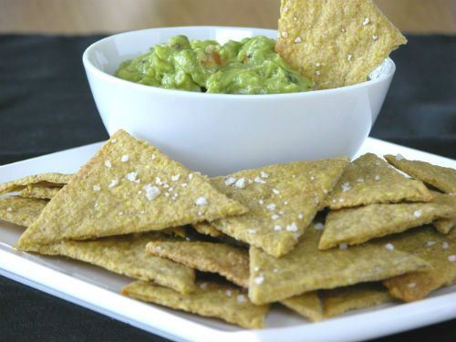 Recipe- Plantain Tortilla Chips #Paleo #GlutenFree #LowCarb Easy chip alternative!