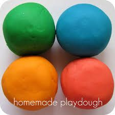 Image result for homemade playdough
