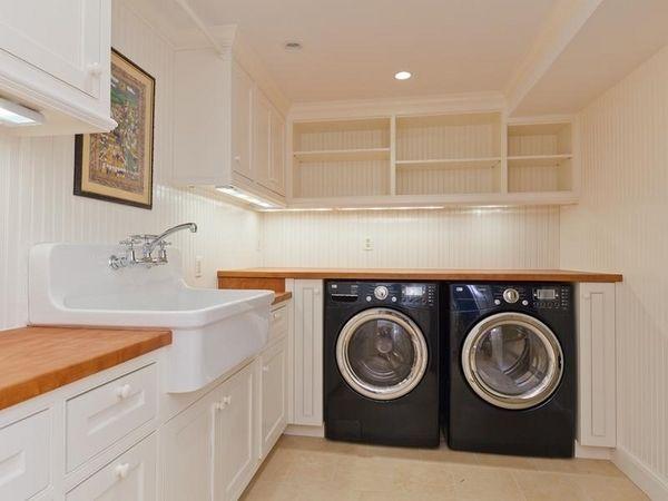 Wonderful Ideas Basement Remodel For Laundry Room