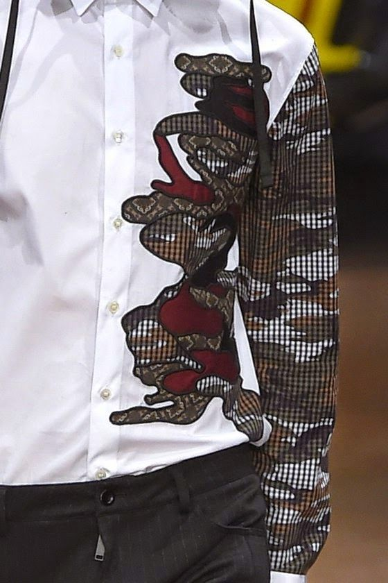 patternprints journal: PRINTS, PATTERNS AND TEXTILE SURFACES FROM MILAN CATWALKS (MENSWEAR F/W 2015/16) / Antonio Marras