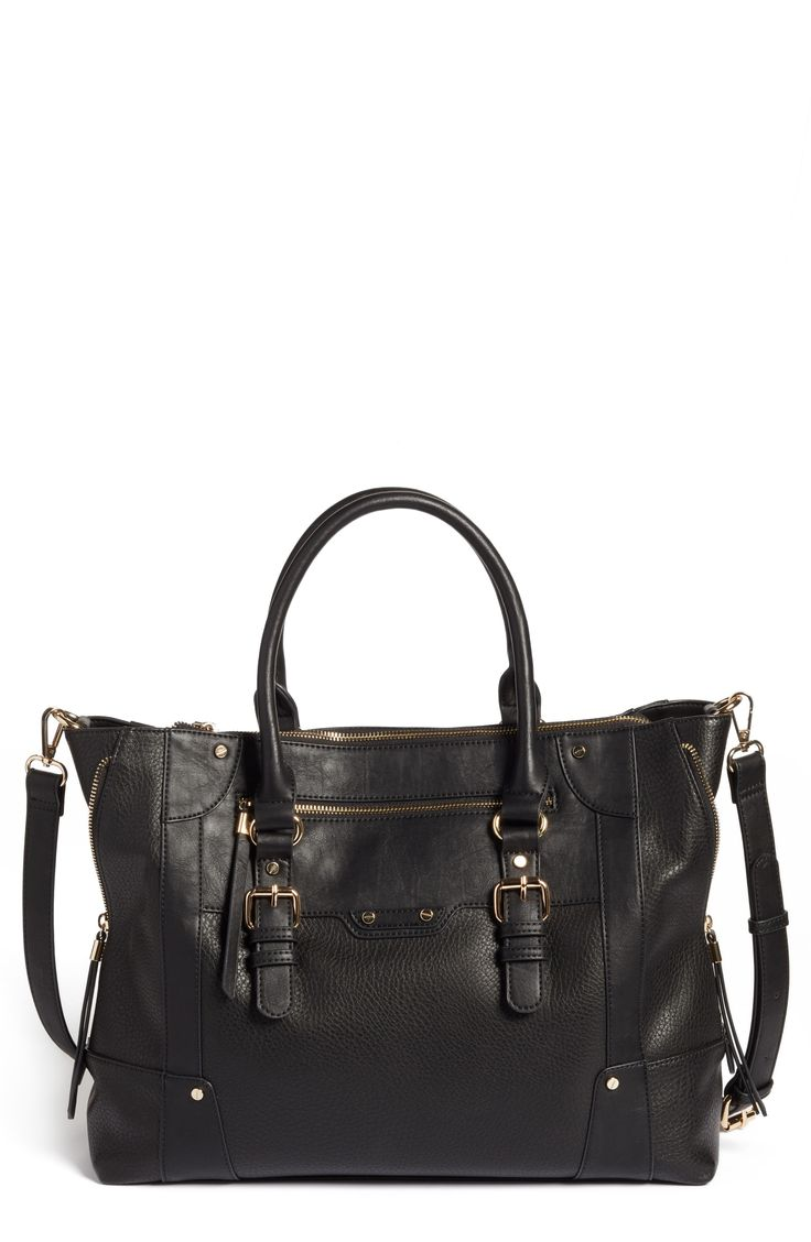 Susan Faux Leather Tote