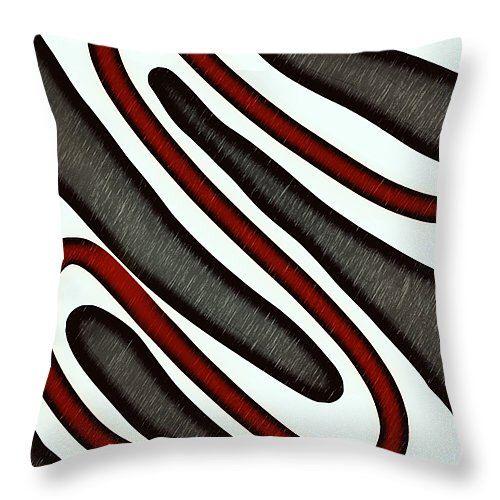 Abstract Throw Pillows Designer Silver Brown Red Black White Modern Home Decor,Interior Design,Black White Pillow,Decorator Silver Cushions by HeatherJoyceMorrill on Etsy https://www.etsy.com/listing/264147433/abstract-throw-pillows-designer-silver