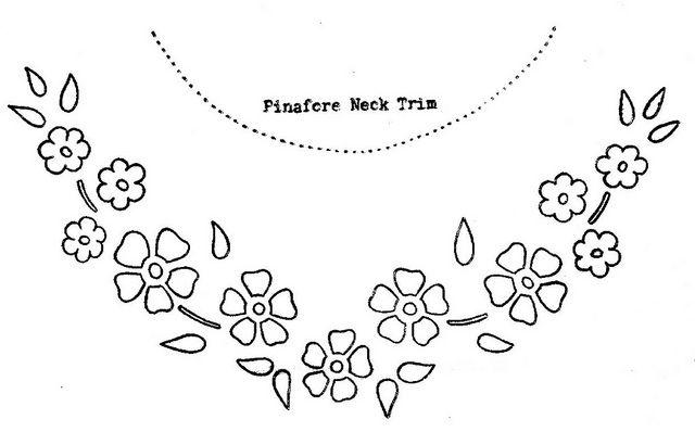 550-71 WB g | love to sew via Flickr . . . . Neck trim