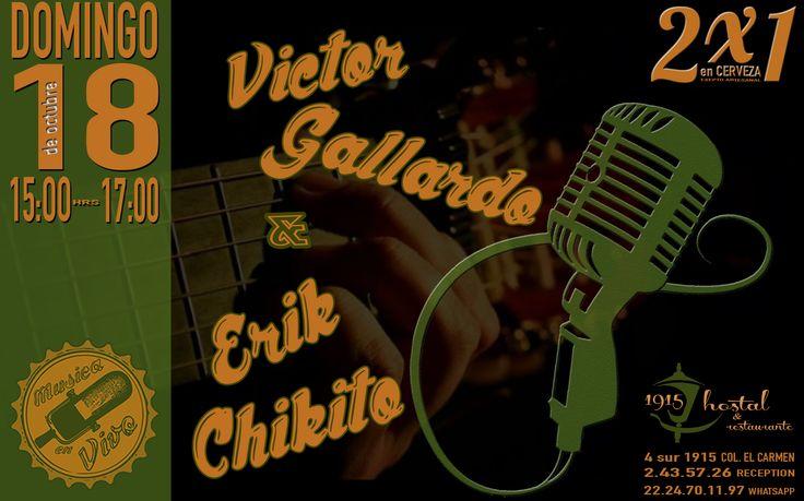 #Advertising Musica en Vivo - Hostal 1915