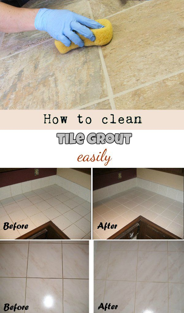 How To Clean Tile Grout Easily Homemade Recipe