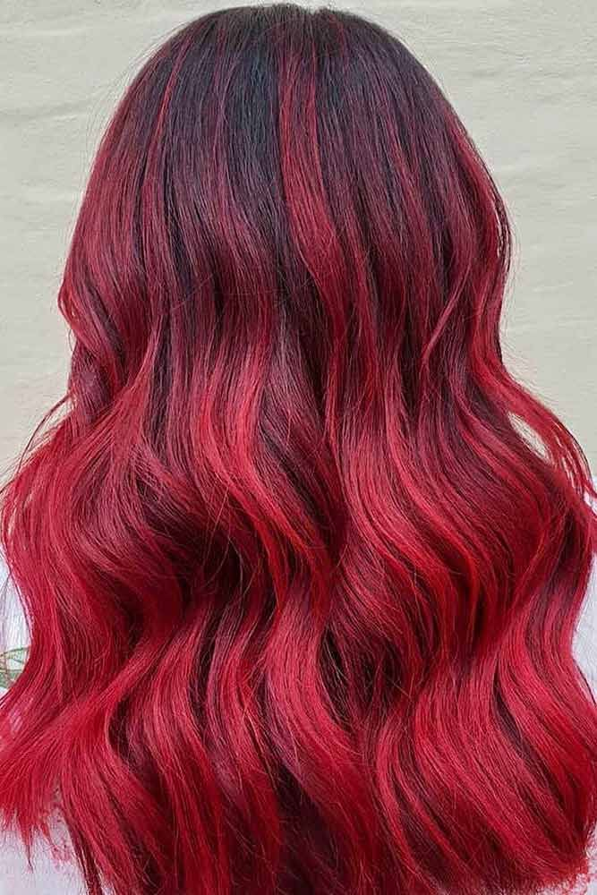 Red Hair Color For Spring Look #redhair #redhaircolor Spring hair colors are cool and refreshing, allowing you to be tre…