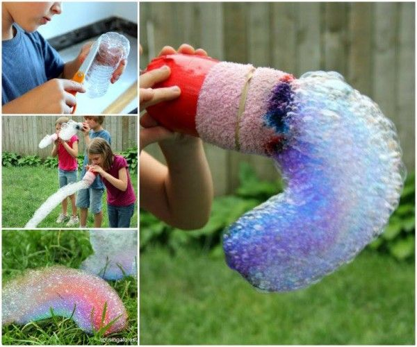 DIY Rainbow Bubble Snakes | DIY Tag