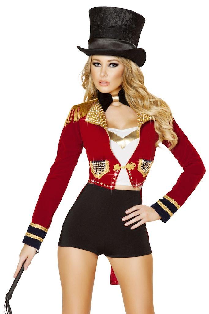 BSeductive - R-4518 - Seductive Circus Leader Costume
