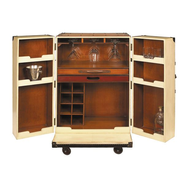 In Need Of A Petite Bar Cabinet? Look No Further Then Authentic Models  MF114 Orient