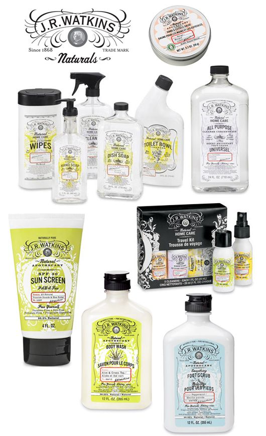 J.R. Watkins is an original natural apothecary manufacturer that has been around for over 140 years