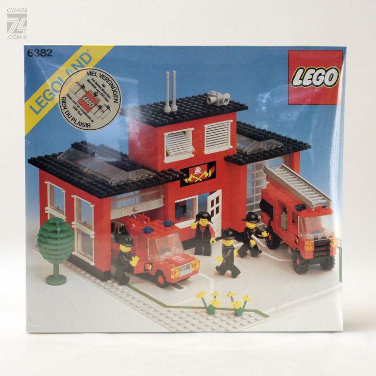 www.cyan74.com - vintage & pop culture - Rare Vintage 1980's LEGO 6382 MISB | SOLD