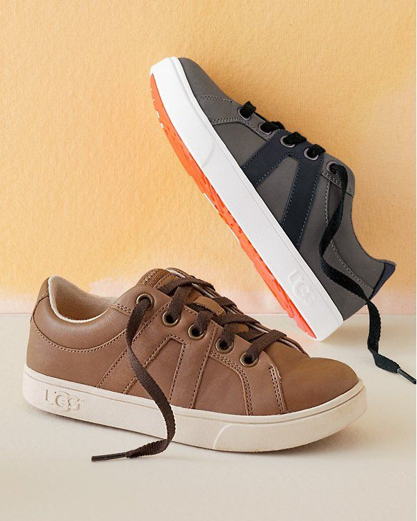 These UGG sporty boys' sneakers are a