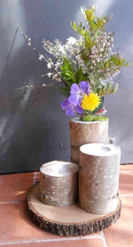 17 mejores ideas sobre porta velas en pinterest decoraciones de vela madera y decoraci n de - Velas y portavelas ...
