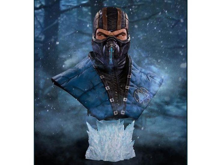 Mortal Kombat X Life-size Bust - Sub Zero - Mortal Kombat Statues & Busts