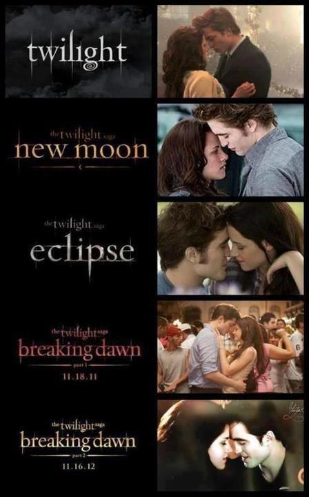 Twilight Saga Books x 4, New Moon - Eclipse - Breaking Dawn - Stephanie Meyer -