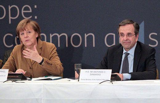 Der-Grieche-Aktuell: Der-Grieche-Aktuell Merkel spricht Griechen Mut zu...