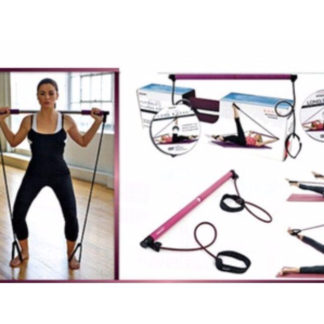 Portable PilatesAlat Latihan Pembentukan Kekuatan Tubuh ini bernama PORTABLE PILATES with workout DVD As Seen On TV. Memiliki bobot yang ringan dan portable membuatnya mudah untuk digunakan di rumah ataupun di tempat latihan pribadi.Dapat digunakan untuk pelatihan Pilates serta pelatihan kekuatan tubuh bagian atas. Tali kabel yang digunakan nya memiliki ketahanan, serta tabung palang yang aman dan beresistensi tinggi.Alat latihan yang juga bisa digunakan dalam latihan kelenturan tubuh ini…