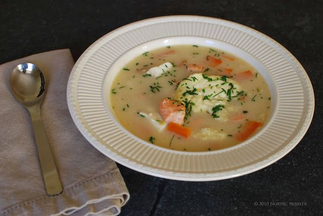 Nordic Nibbler: Bergen Fish Soup (Bergensk Fiskesuppe) - Recipe