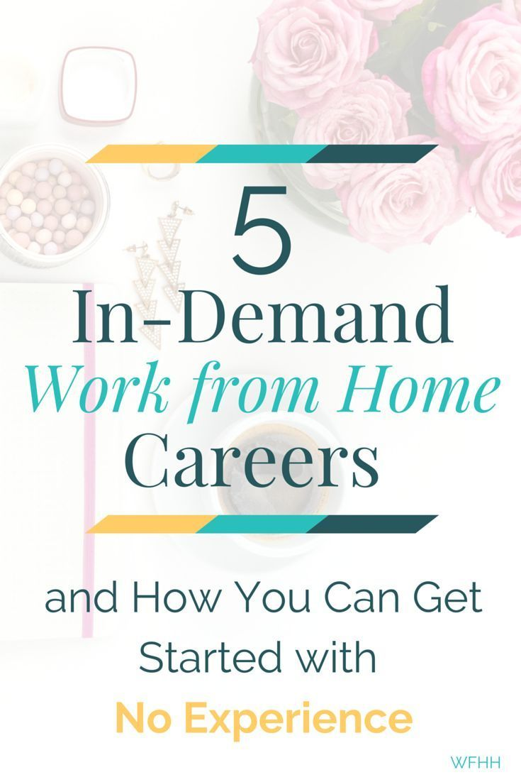 In-Demand Work from Home Careers -- No Experience Required!