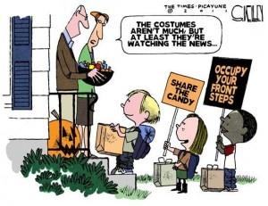 Occupy Halloween Jokes