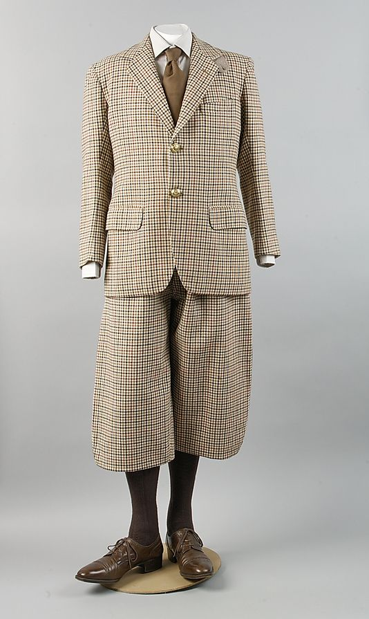 Suit, F. Scholte; Forster & Son, Ltd., 1933.  Worn by King Edward VIII when Prince of Wales.