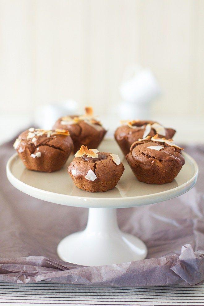 """Un """"Flo"""" de bonnes choses » Gâteaux très moelleux & un peu fondants au chocolat et noix de coco"""